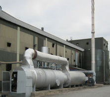 Energy from waste plant
